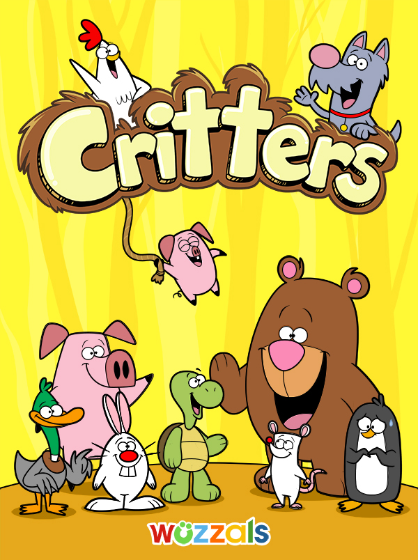 Critters book cover