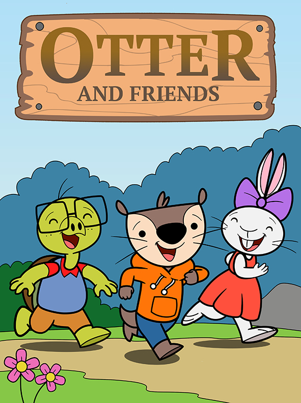 Otter and Friends book cover